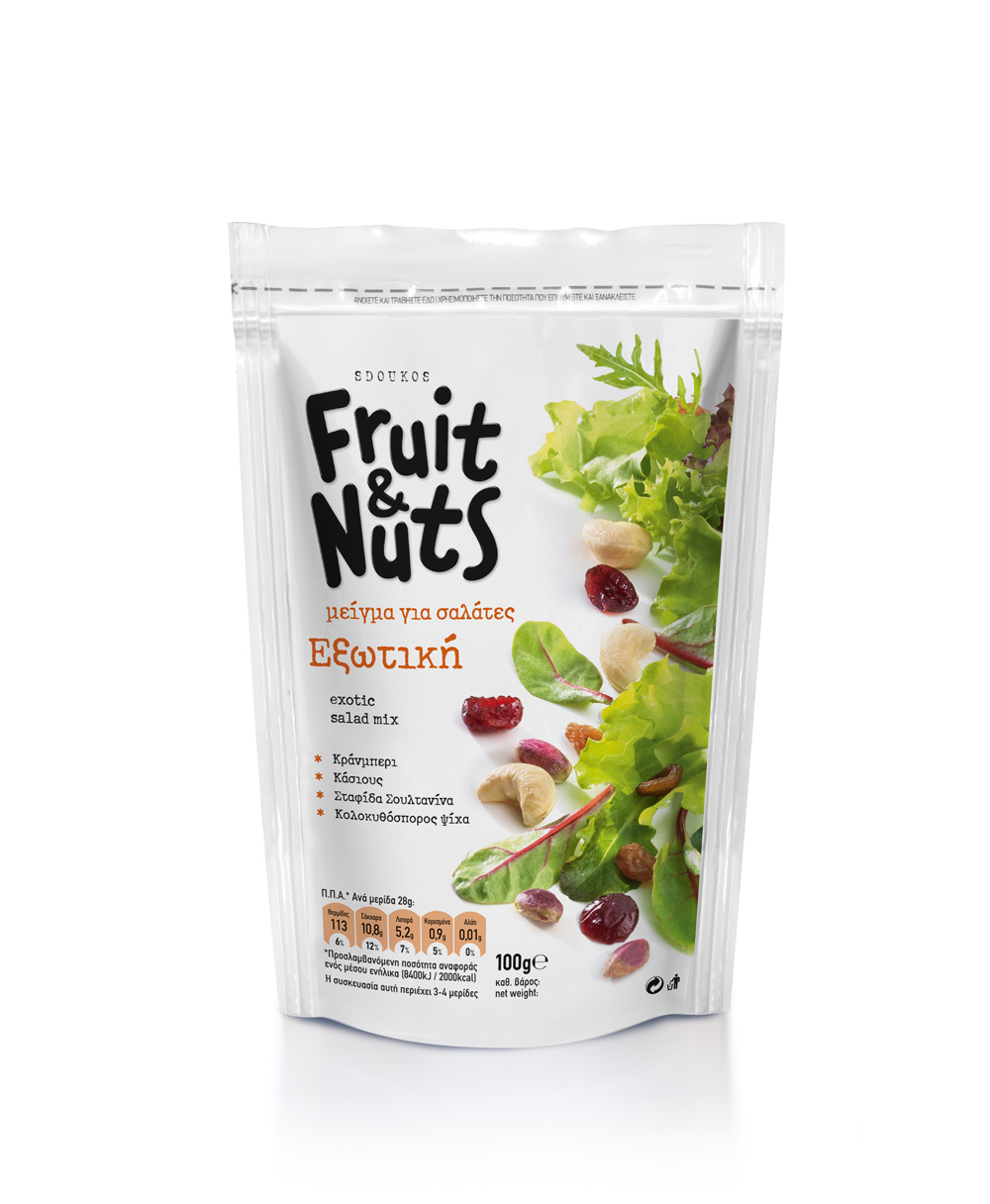 """Fruit & Nuts"" EXOTIC SALAD MIX 100g"