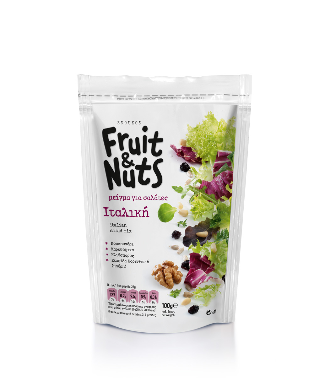 """Fruit & Nuts"" ITALIAN SALAD MIX 100g"